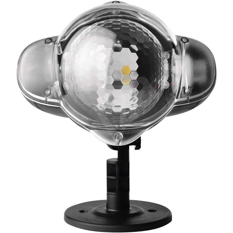 LED dekorativní projektor – padající vločky, venkovní - Vánoční projektor