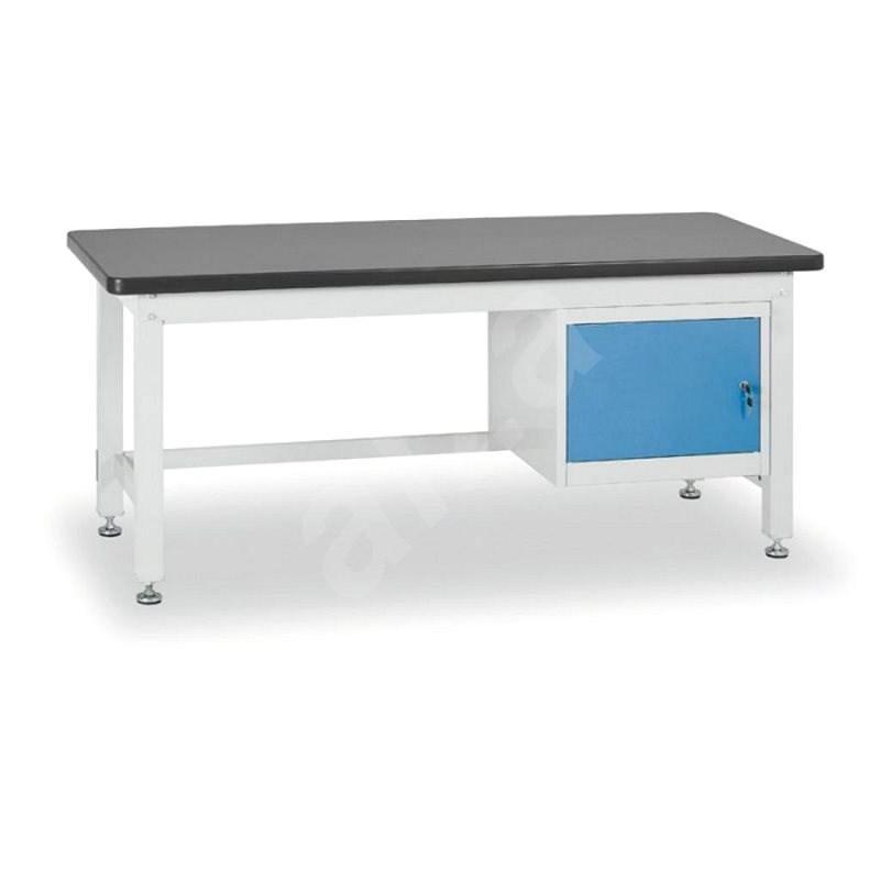 Enprag Dílenský stůl 800 x 2100 x 750 mm - 1 skříňka - Pracovní stůl