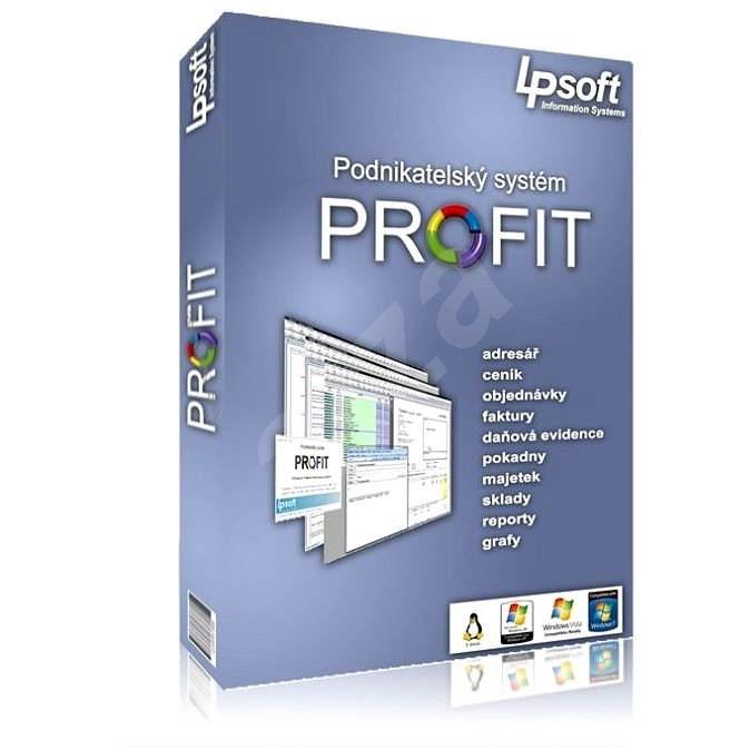 Profit PLUS pro 1 počítač (elektronická licence) - Elektronická licence