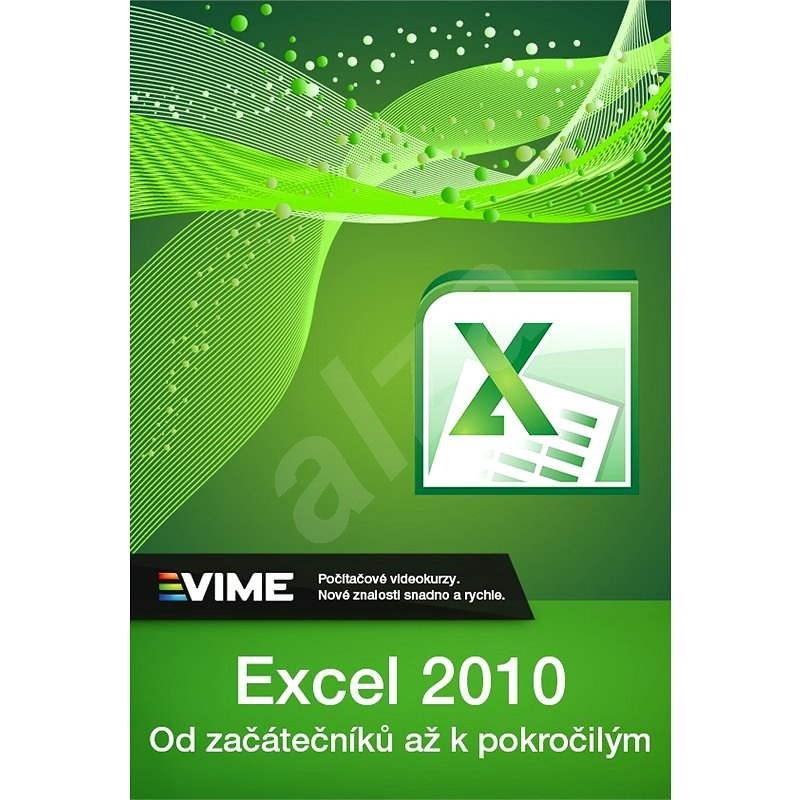 Výukový kurz MS Excel 2010 doživotní licence ke stažení (elektronická licence) - Elektronická licence