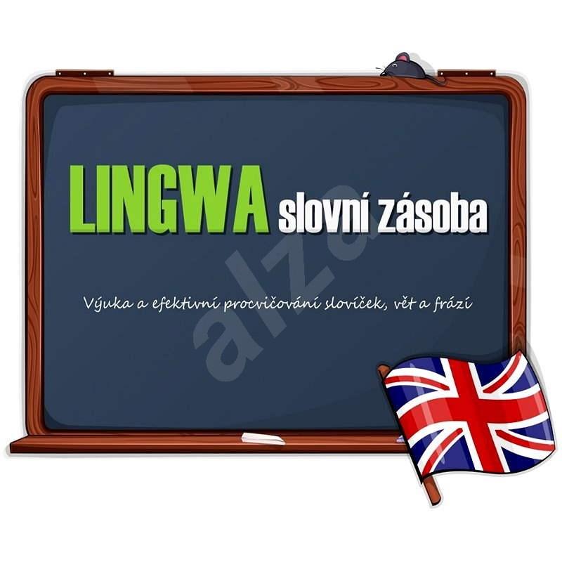 LINGWA slovní zásoba - Angličtina (elektronická licence) - Elektronická licence