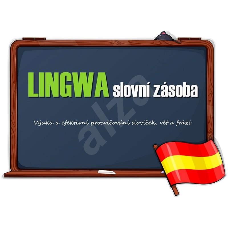 LINGWA slovní zásoba - Španělština (elektronická licence) - Elektronická licence