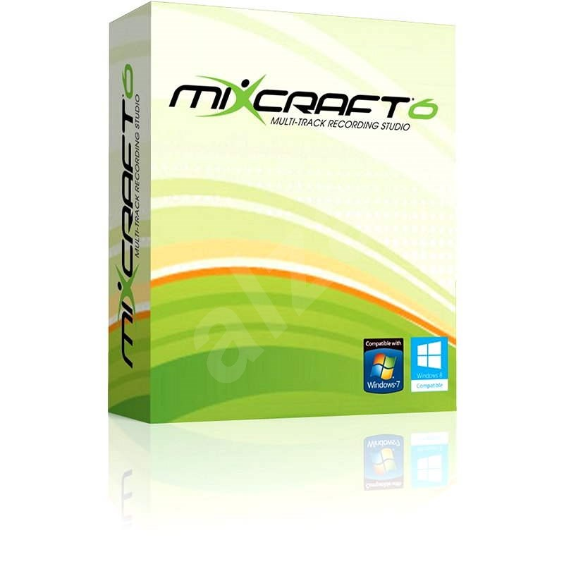 Mixcraft 6 (elektronická licence) - Elektronická licence