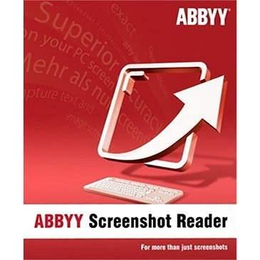 ABBYY Screenshot Reader (elektronická licence) - Kancelářský software