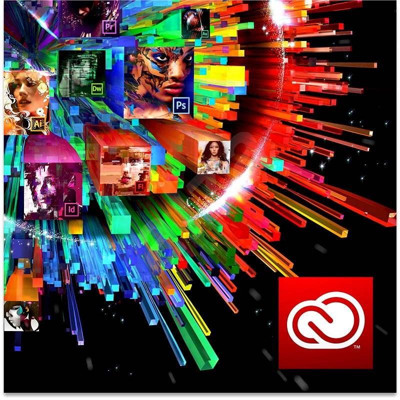 Adobe Creative Cloud for teams All Apps MP ENG Commercial (12 měsíců) (elektronická licence) - Grafický software