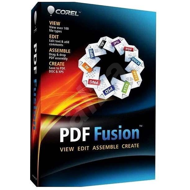 Corel PDF Fusion 1 License ML WIN (elektronická licence) - Kancelářský software
