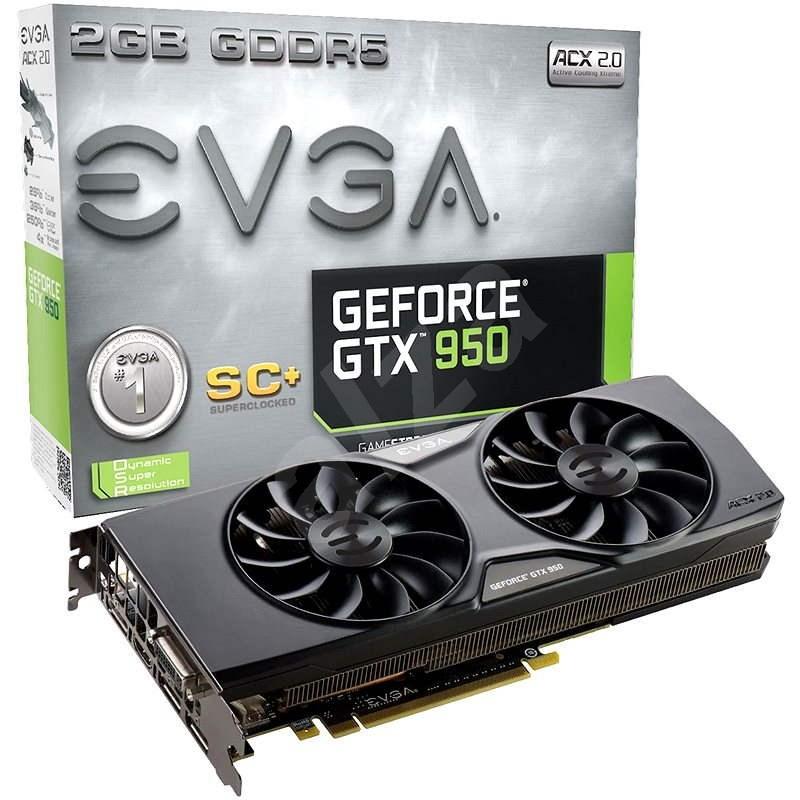 EVGA GeForce GTX950 SC+ GAMING - Grafická karta