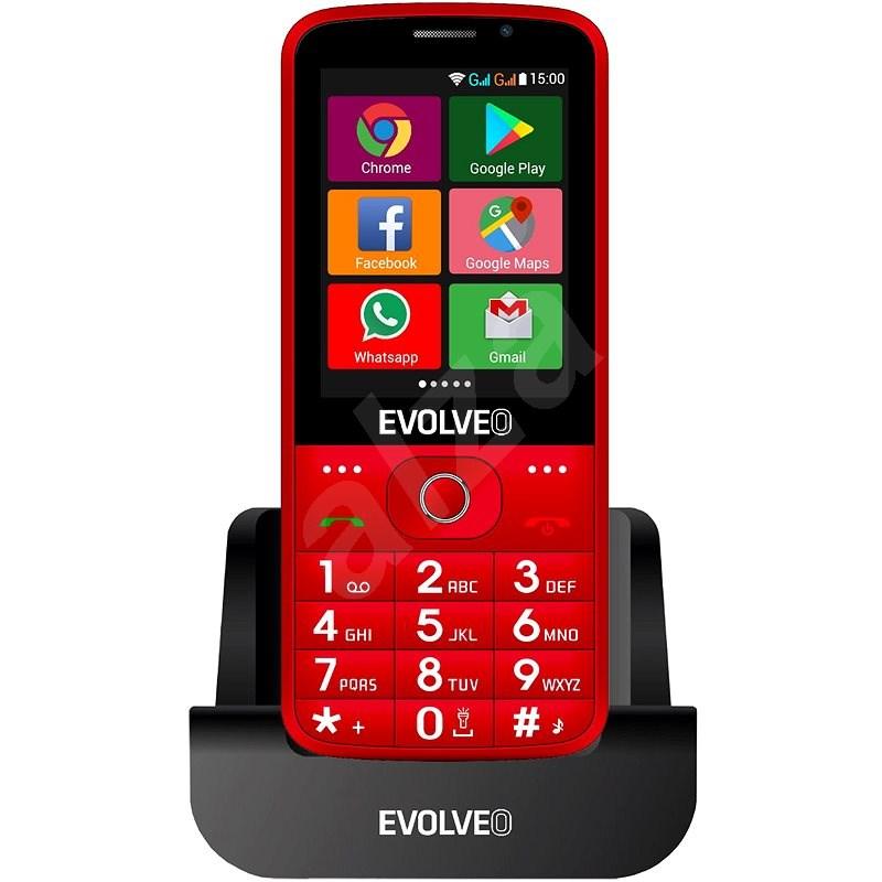 EVOLVEO EasyPhone AD červený - Mobilní telefon