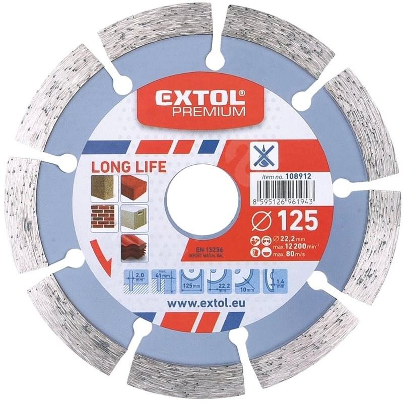 EXTOL PREMIUM 108912 - Diamantový kotouč
