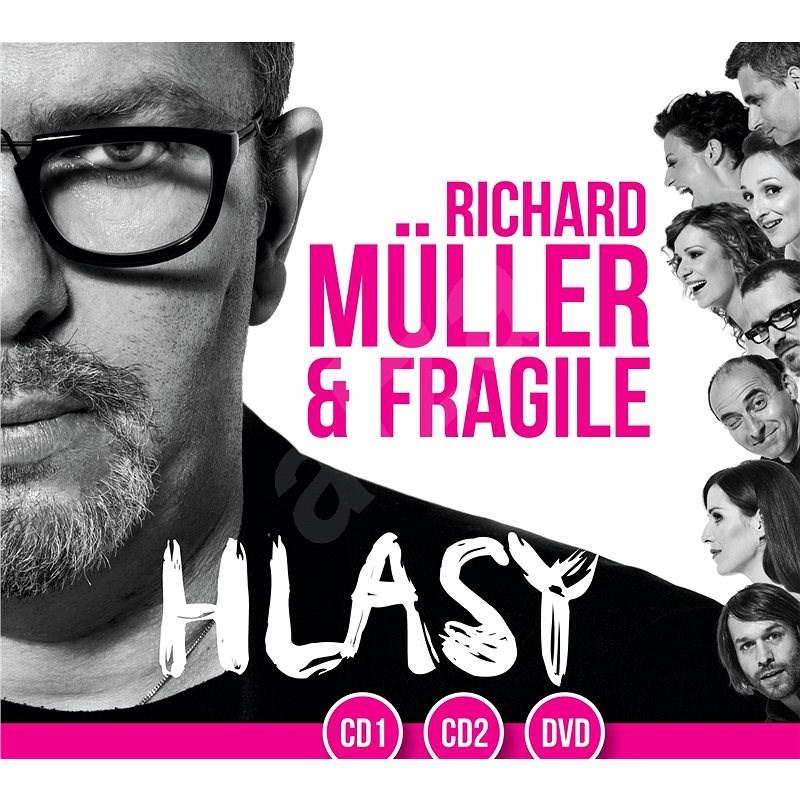 Müller Richard: Hlasy 2 (2014) (2x CD + DVD) - CD + DV - CD+DVD - Hudební CD