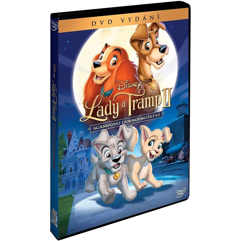 Lady a Tramp 2: Scampova dobrodružství - DVD - Film na DVD