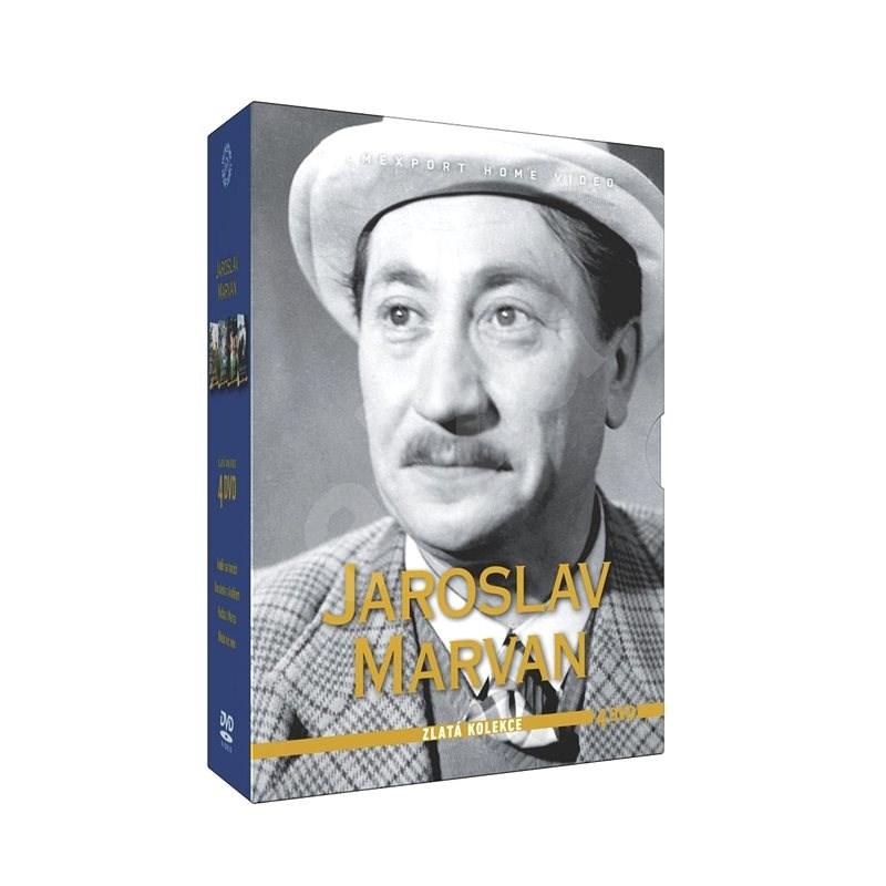 Kolekce Jaroslav Marvan (4DVD) - DVD - Film na DVD