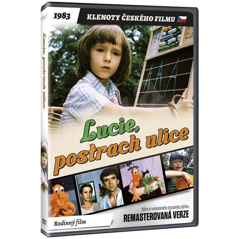 Lucie, postrach ulice - edice KLENOTY ČESKÉHO FILMU (remasterovaná verze) - DVD - Film na DVD