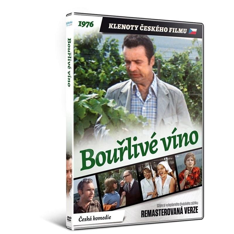 Bouřlivé víno - edice KLENOTY ČESKÉHO FILMU (remasterovaná verze) - DVD - Film na DVD