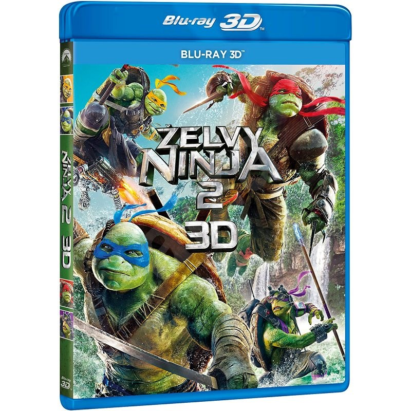 Želvy Ninja 2. 3D - Blu-ray - Film na Blu-ray