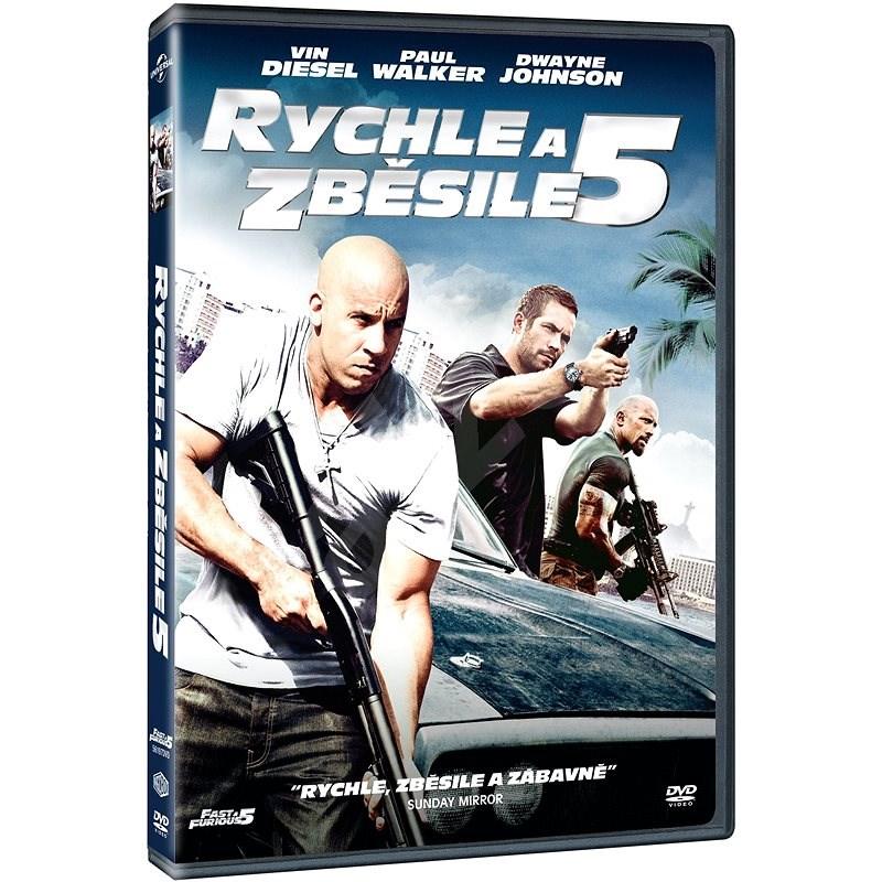 Rychle a zběsile 5 - DVD - Film na DVD