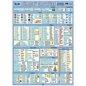 Německý slovníček: 2800 slovíček -