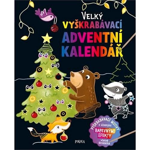 Velký vyškrabávací adventní kalendář -
