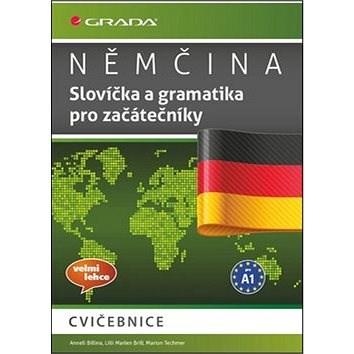 Němčina Slovíčka a gramtika pro začátečníky: cvičebnice, velmi lehce, pro A1 - Anneli Billina; Lilli Marlen Brill; Marion Techmer