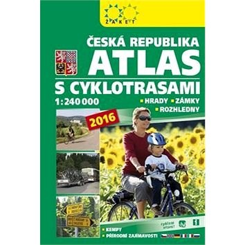 Česká republika Atlas s cyklotrasami: 1:240 000 -