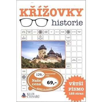 Křížovky historie: Větší písmo 128 stran -
