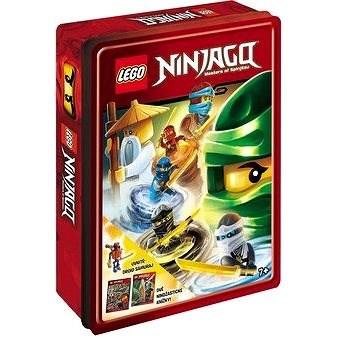 LEGO NINJAGO Dárková krabička: obsahuje minifigurku + 2 knížky - neuveden