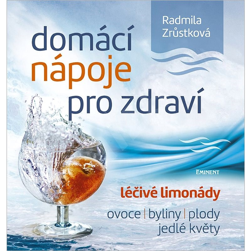 Domácí nápoje pro zdraví: léčivé limonády, ovoce, byliny, plody, jedlé květy - Radmila Zrůstková