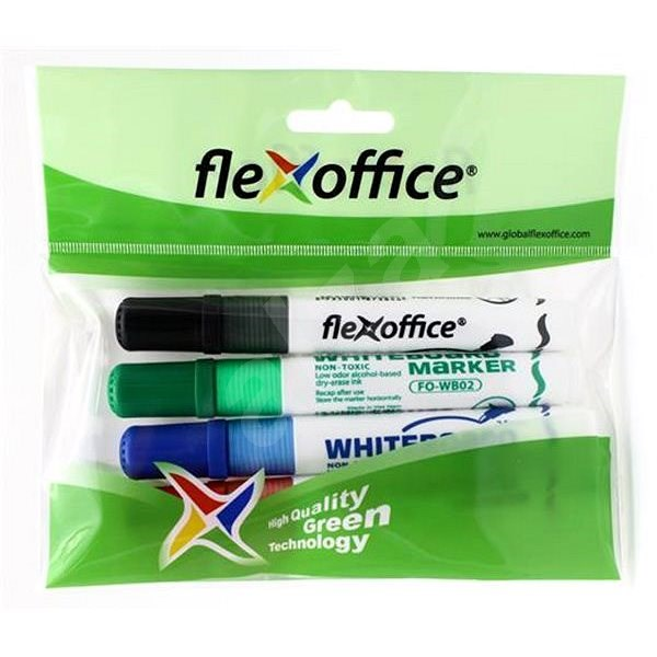 FLEXOFFICE WB2 2.5mm - 4 barvy - Popisovač