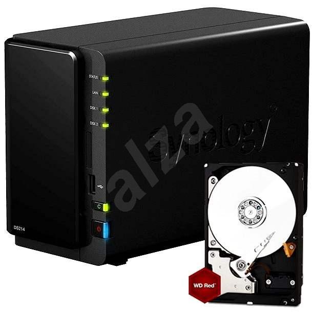 Synology DiskStation DS214 1x2TB - Datové úložiště