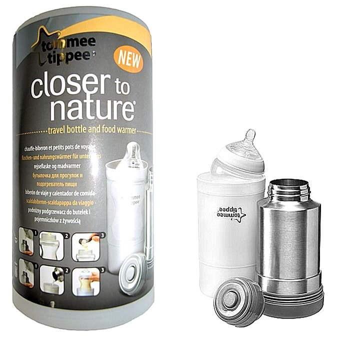 Termoska a cestovní ohřívačka lahví C2N - Ohřívač lahví