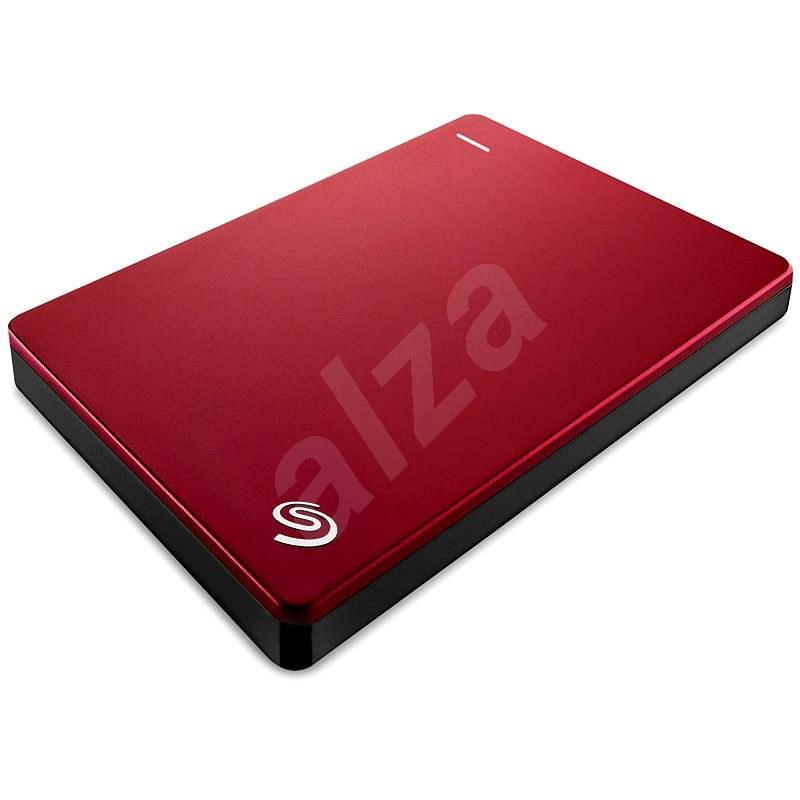 Seagate BackUp Plus Slim Portable 1TB červený - Externí disk