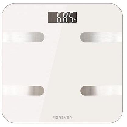 Forever AS-100 bílá - Osobní váha