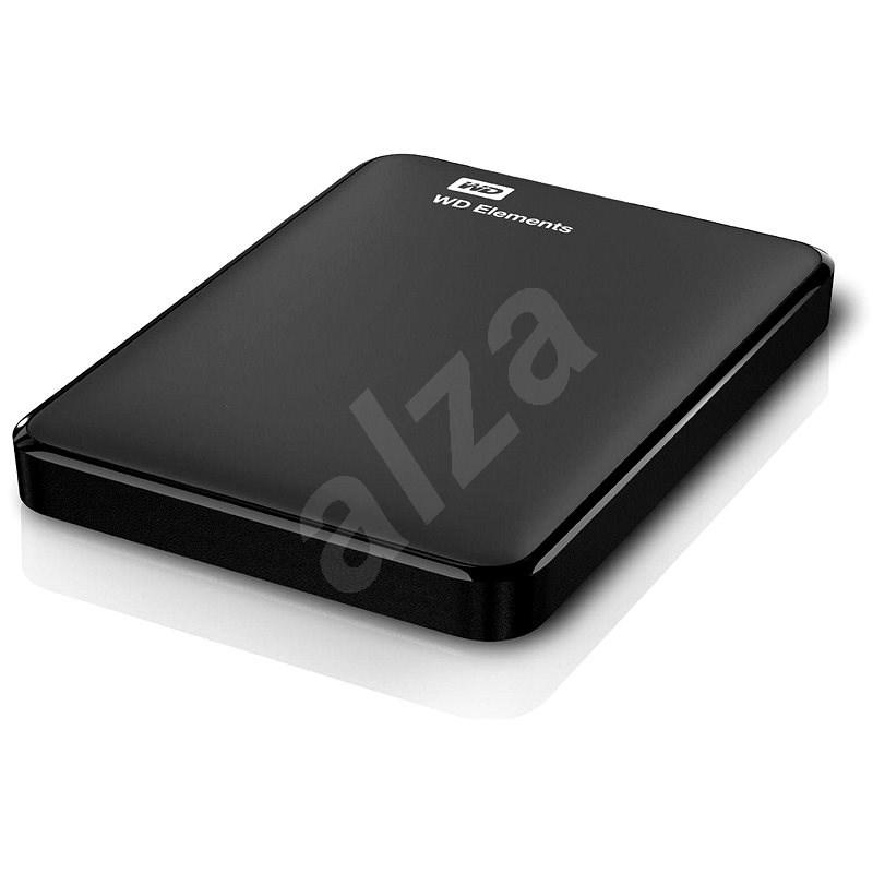 """WD 2.5"""" Elements Portable 1TB černý - Externí disk"""