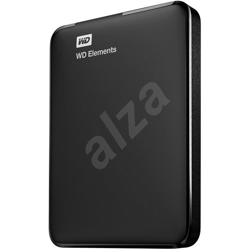 WD Elements Portable 2TB černý - Externí disk