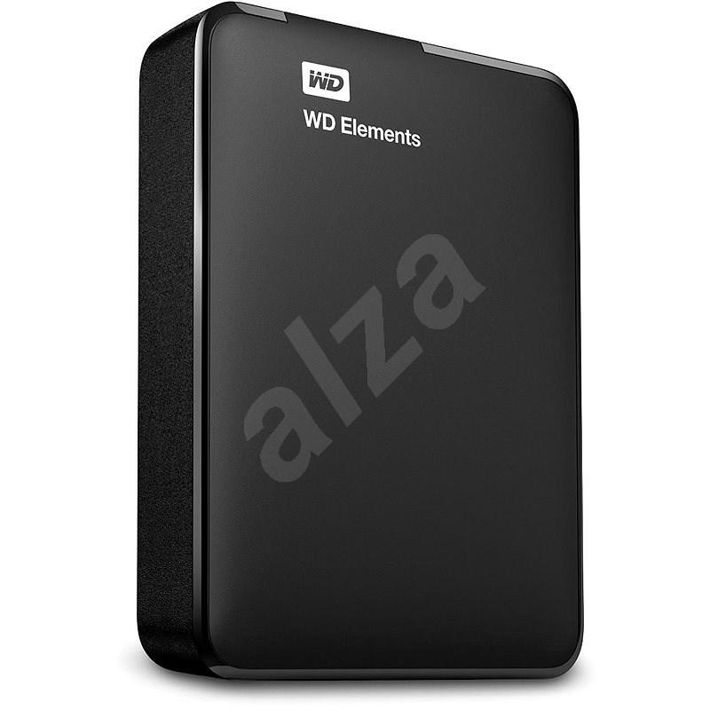 WD Elements Portable 4TB černý - Externí disk