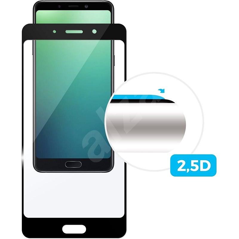 FIXED Full-Cover pro Nokia 5.1 Plus (X5) černé - Ochranné sklo