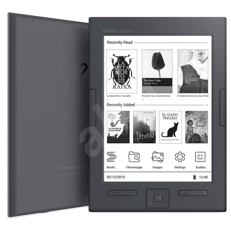 Energy Sistem eReader Slim HD - Elektronická čtečka knih