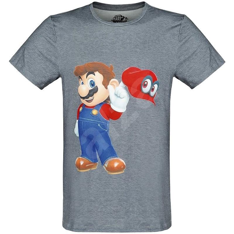 Super Mario - Odyssey Mario&Cappy S - Tričko