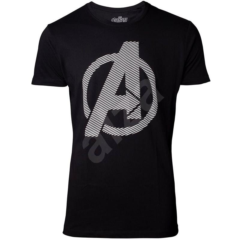 Marvel Avengers: Infinity War Logo - M - Tričko