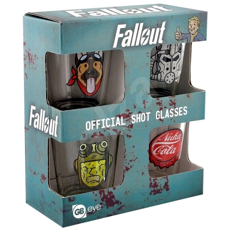 Fallout - štamprle (4x) - Sklenice na studené nápoje