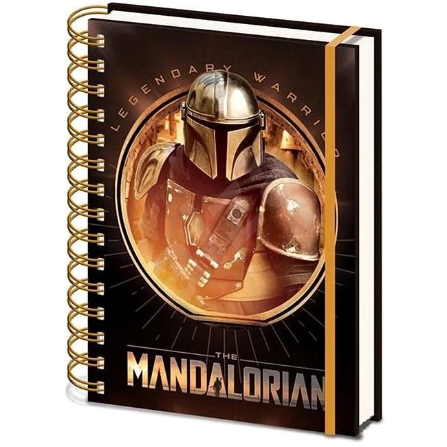 Star Wars - Mandalorian: Bounty Hunter - zápisník s kroužkovou vazbou - Zápisník