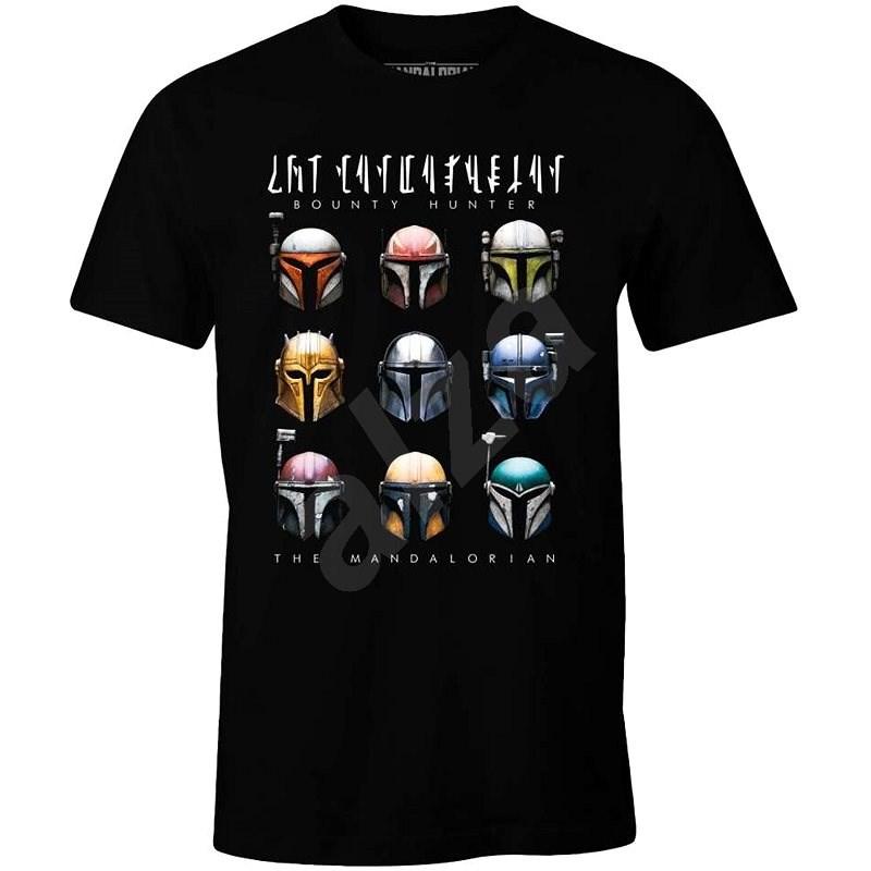 Star Wars Mandalorian - Bounty Hunters - tričko L - Tričko