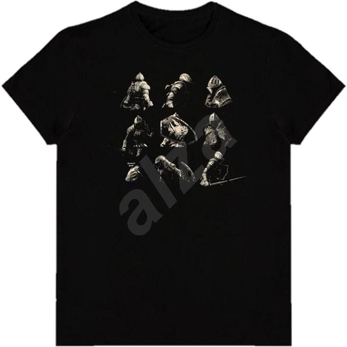 Demons Souls - Knight Poses - tričko M - Tričko