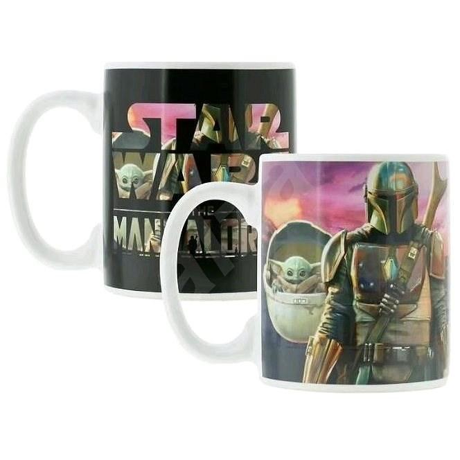 Star Wars - The Mandalorian - hrnek proměňovací - Hrnek