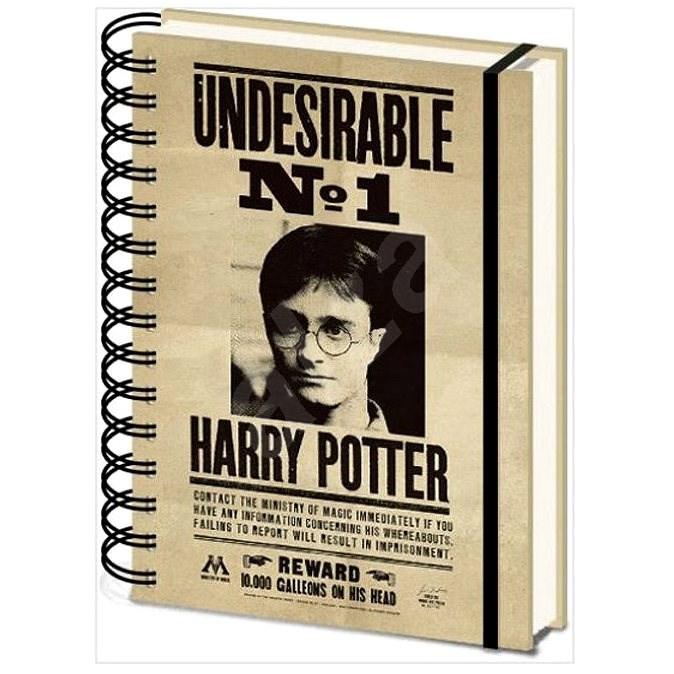 Harry Potter - Sirius and Harry - zápisník 3D proměňovací - Zápisník