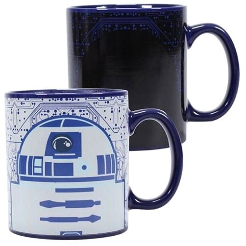 Star Wars - R2-D2 - proměňovací hrnek - Hrnek