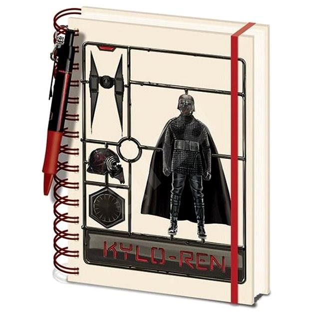 Star Wars - Airfix Kylo - zápisník s propiskou - Zápisník