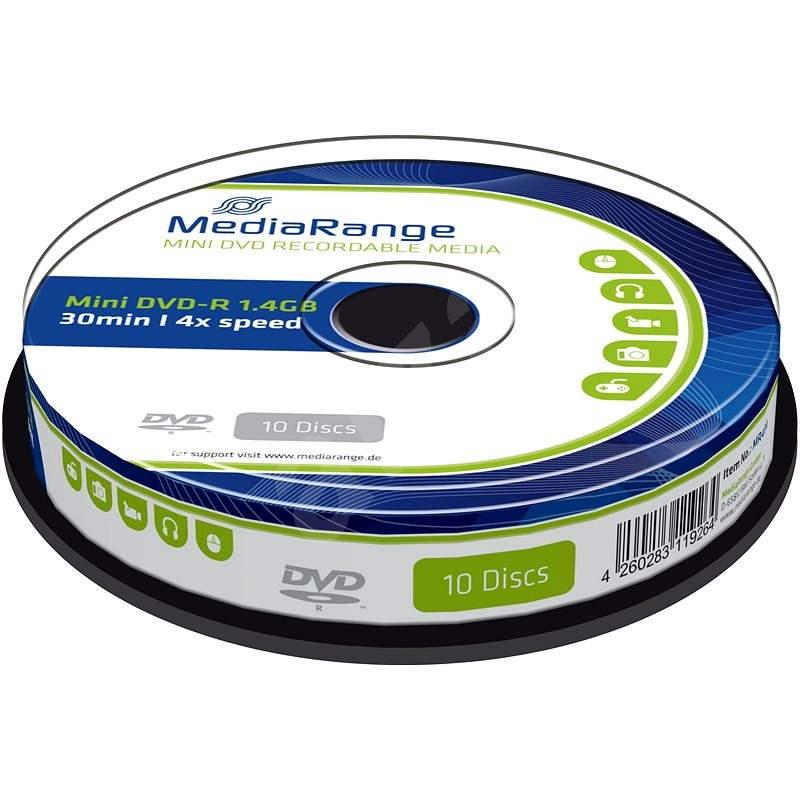 Mediarange DVD-R 8cm 1.4 GB 4x spindl 10 ks - Média