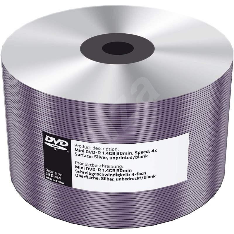 Mediarange DVD-R 8cm 1.4 GB 4x blank folie 50 ks - Média