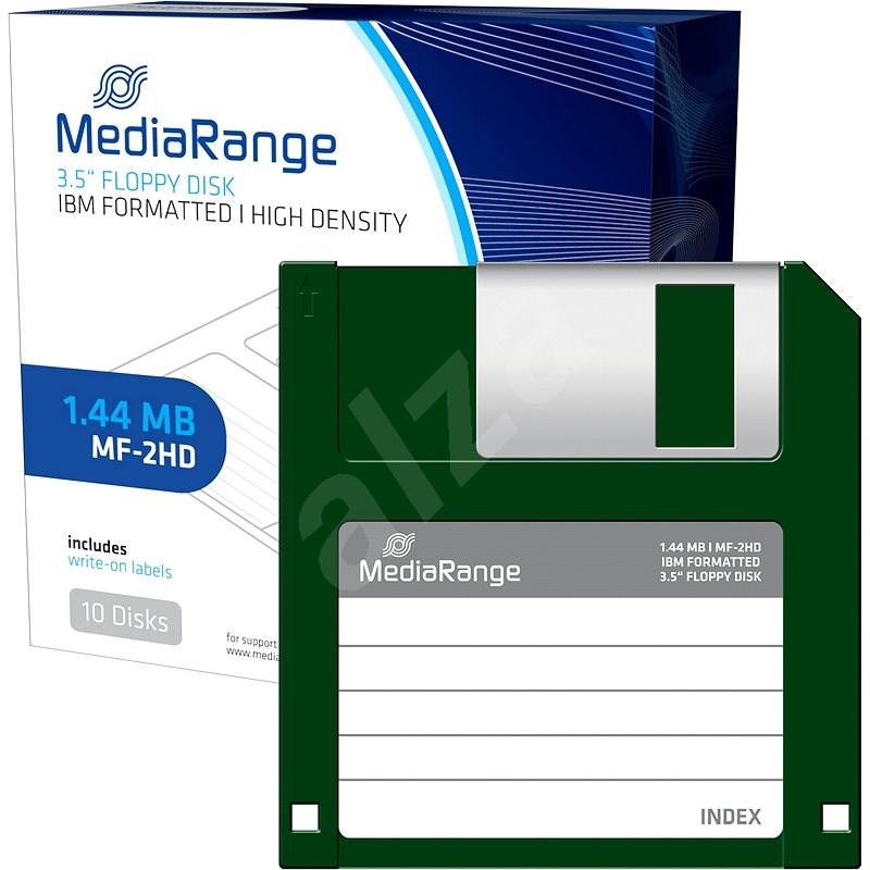 """Mediarange Disketa 1.44 MB 3.5"""" 10 ks - Disketa"""